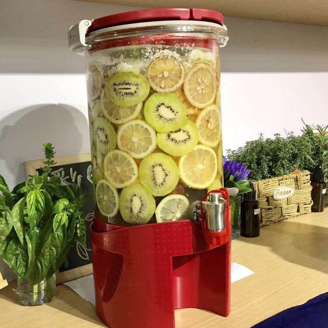 水果酵素桶发酵密封罐高硼硅玻璃储酿器水果酵素罐生产厂家