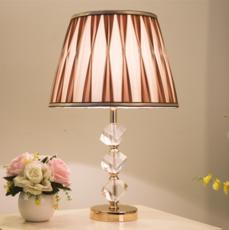 供应 水晶台灯 创意简约现代北欧时尚客厅台灯