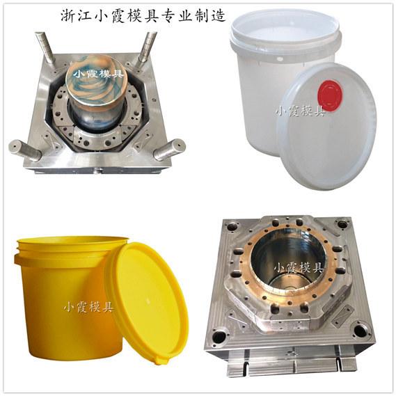 10升塑胶机油桶模具制作