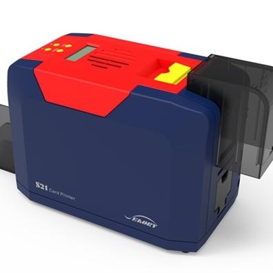 全国总代飒瑞S21单面直印式证卡打印机