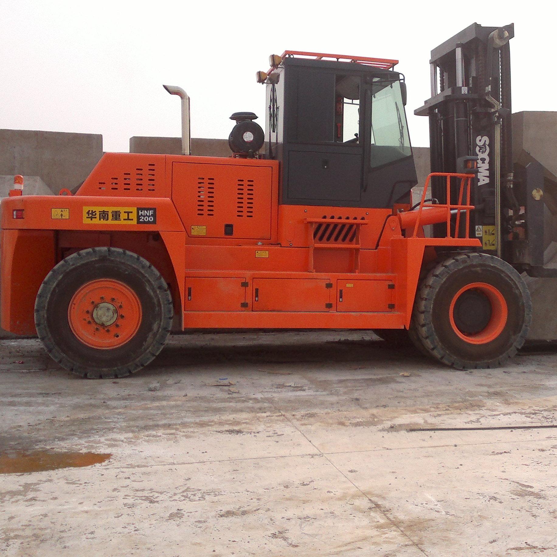 供应华南重工20吨重型叉车 杭叉合力对比