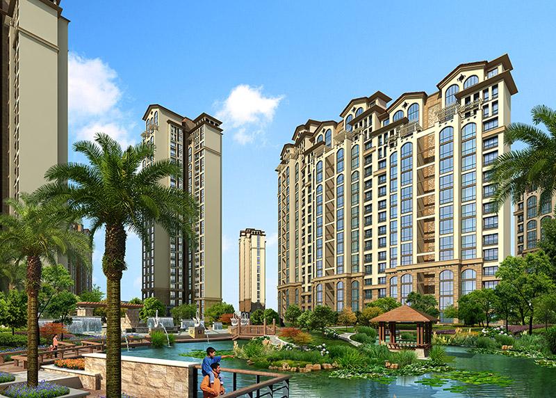 广东省建科建筑设计院东莞分院欧式风格景观设计包括什么图片