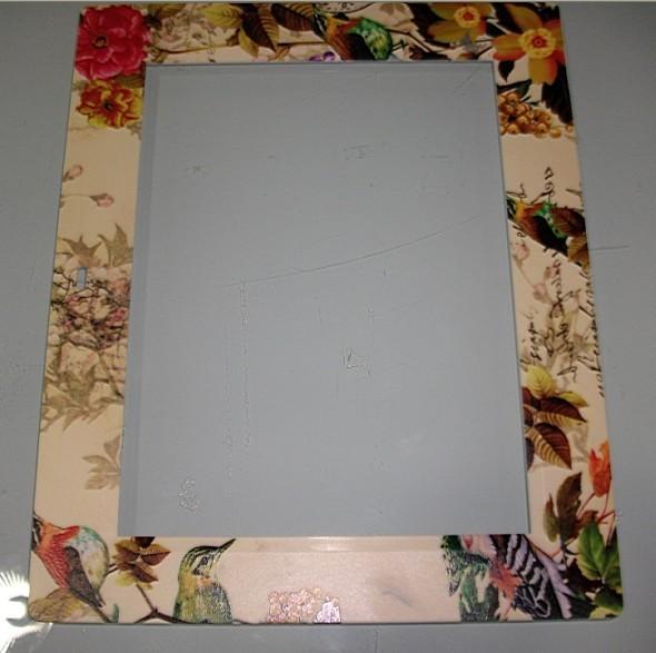镜子手工边框图片
