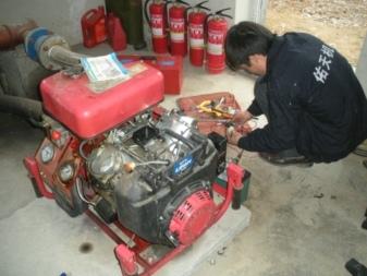 扬州江都汽油机消防泵及汽油发电机维修保养